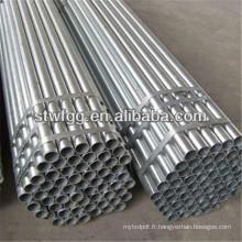 Tube / tuyau api 5l / astm tuyau d'acier galvaniser tube métallique sans soudure en acier au carbone tuyaux sa210 a1