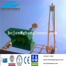 Remote control hydraulic clamshell grab bucket