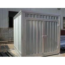 Economic Steel Storage Sheds , Galvanized Storage Container