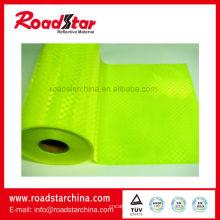 Rollos de PVC prismático brillo para cinturón de piel