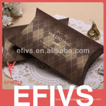 Coffe Color Delicate wedding favor Box Supplier Packing