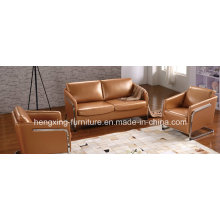 Living Room Furniture Recliner Leather Sofa (HX-S3003)