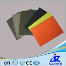 Feuille en plastique colorée à haute densité de PE pour l'industrie