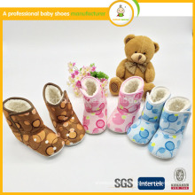 2015 new style hot selling factory cheap kid child baby boot shoes in winter
