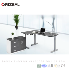 Top quality factory direct sale waterproof blow molded height adjustable table with controller