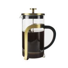 Heißer Verkauf in Amazon tragbaren Pyrex Französisch Presse Kaffee und Tee Hersteller 1000ml