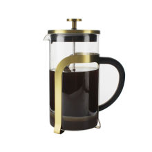 Hot sale in Amazon portable pyrex french press coffee and tea maker 1000ml