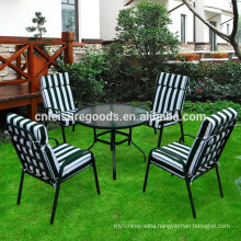 2017 classic Cushion metal patio furniture garden outdoor