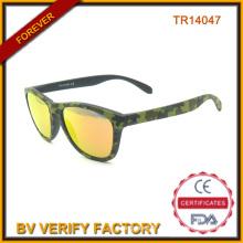 Nouveau Design extérieur Tr90 lunettes de soleil Tr14047 couleur Camou