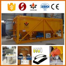 Type de conteneur 25 tonnes silo de ciment horizontal