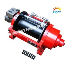 Hydraulic recovery winch for pulling HCP series