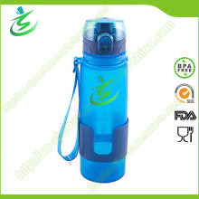 BPA Free Silicone Foldable and Collapsible Water Bottle