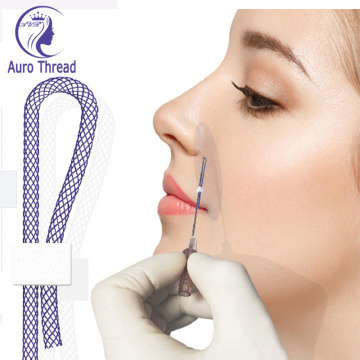 Collagen PDO Thread Lifting For Face With Needle