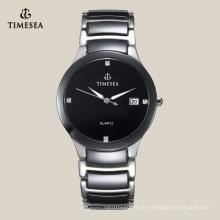Reloj de cerámica 2016 de la última manera popular de los hombres con las piedras 72111