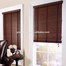 50mm elegant faux wood blinds External venetian blinds Wholesale wood blind