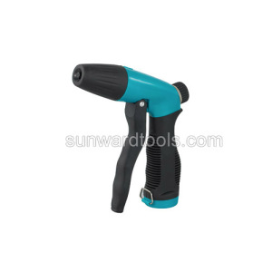 Plastic adjustable spray gun