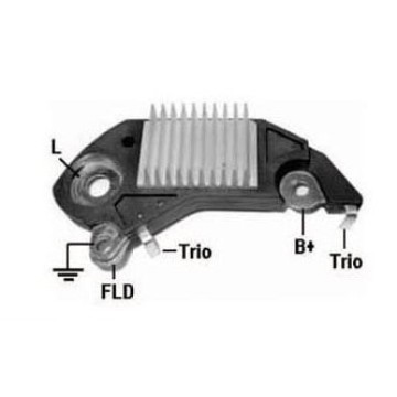 Alternador de Delco regulador 10475019