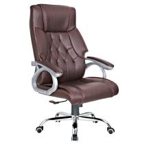 WorkWell confortável cadeira de escritório de couro de luxo de alta volta