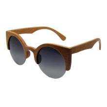 Vintage moda madeira óculos de sol (sz5688-2)