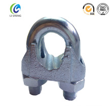 Din741 malleable wire rope clip made in china