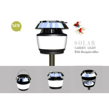 Solar LED Garden Courtyard Lawn Lantern Light with Mosquito Repellent Killer
