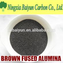 Oxyde d'aluminium fusionné de 60 mesh pour le polissage et la meule