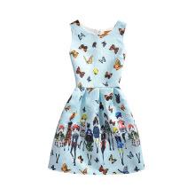 Usine en gros bébé mode filles courtes robes robe pour Sweet Girl Party Wear
