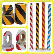 Échantillon gratuit coloré PVC / animaux de compagnie basé sur la bande réfléchissante de lumière de véhicule de camion