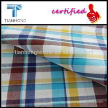 High Density Cotton Plaid Fabrics/Yarn Dyed Small Checks Fabric Customized for ZARA/Cotton Plaid T-shirt Fabric