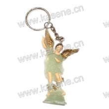 Llavero luminoso religioso de la nueva manera, estatua religiosa santa