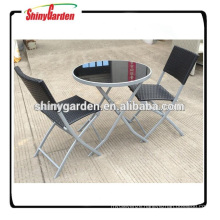 3PCS BISTRO TABLE AND CHAIR SET SG-SC007