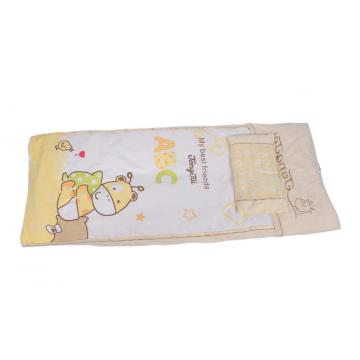 Pure Cotton Cover Toddler Quilt with Pillow