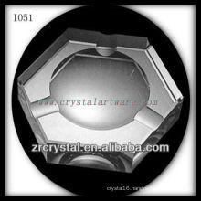 K9 Hexagon Crystal Ashtray
