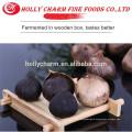 wooden box fermentation high quality peeled solo clove black garlic