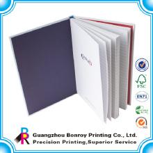 Günstige A4 A5 Spiral Notizbücher mit farbigen Seiten