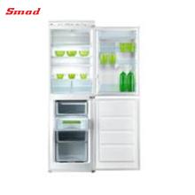 243-268L Doppeltür-Handentfrostung eingebaut im Kühlschrank mit CER