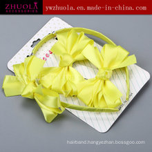 Colorful Hair Accessory Ornament with Ribbon Bow