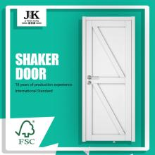 JHK-SK10 Puerta de madera de pared de baño decorativa interior de estilo occidental
