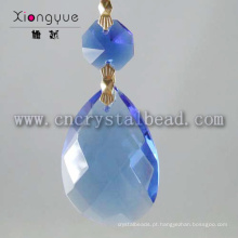 Produtos por atacado novos azul cristal gotas lustre pendente