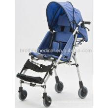 Cadeira de rodas de alumínio leve para bebê