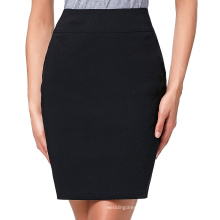 "Kate Kasin Occident Women's High Stretchy Hips-Wrapped Pencil Skirt 20"" KK000276-1"