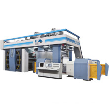 European Technology Ci Type Flexo Printing Machine