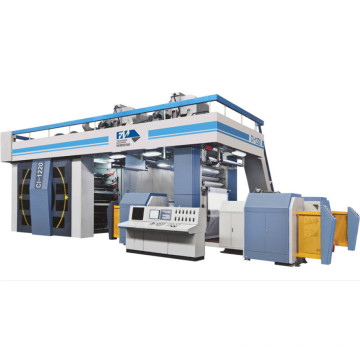 Fengming Ci Type 8 High Speed Flexo Printing Machinery