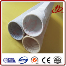 High temperature dust collector filter bag for coal-fired power plant