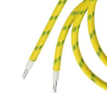 heat resistant glass fibre wire silicone insulated tinned copper wire