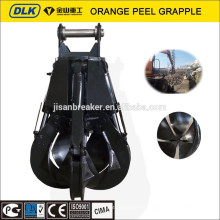 Jisan Orange peel grapple, Doosan scrap grapple, orange peel grab for DX210 DX225