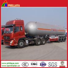 Liquid Gas Tanker LPG Storage Truck Semi Trailer Gas Tank