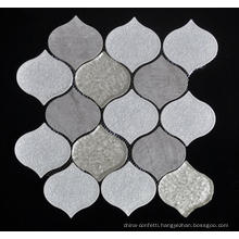 Light Color Wall Decoration Porcelain Mosaic Tile
