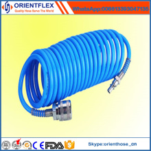 China Fabricante Bom Flexível Colorido PU Bobina Mangueira Reforçada
