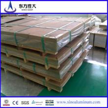 2mm 3mm 4mm Folha de Alumínio e Alumínio Preços de chapa metálica e 7000 Series Folha de liga de alumínio